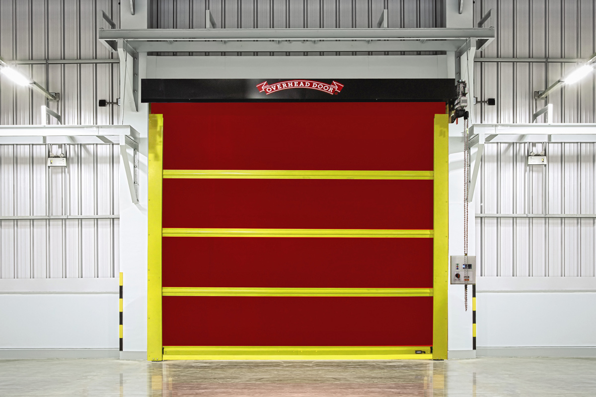 High Speed Insulated Garage Doors